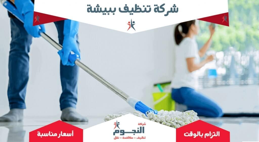 شركة تنظيف ببيشة